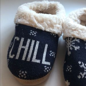 aerie Shoes - Aerie   Navy Chill Soft/Cozy Slippers